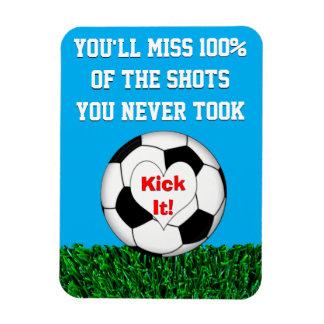 Iman ¡Fútbol - golpéelo con el pie!