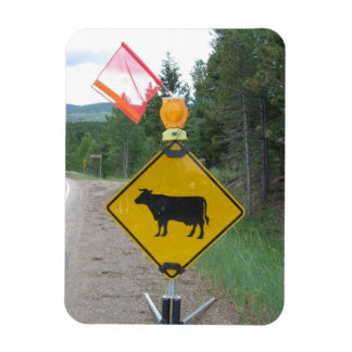 Iman Ganado que cruza la señal de peligro, Utah
