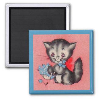 Imán gato dulce del gatito