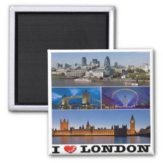 Imán GB - Inglaterra - Londres - amor de I