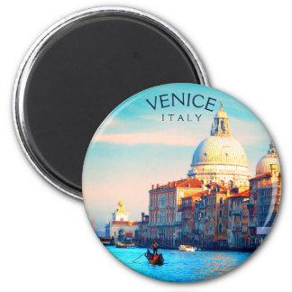 Imán Góndola en el Gran Canal - Venecia, Italia