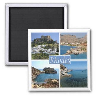 Imán GR * Grecia - Rodas