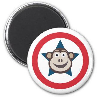 Imán Gráfico estupendo del mono