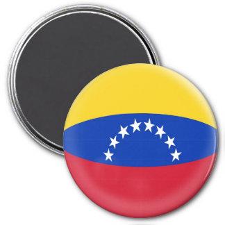 Imán grande de 3 pulgadas - bandera del venezolano