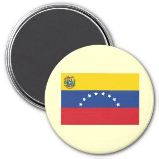 Imán grande de la bandera venezolana