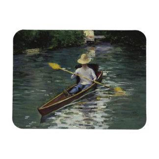 Iman Gustave Caillebotte - canoa en el Yerres
