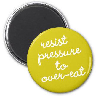 Imán Hábito #7 - Resista la presión para comer