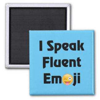 Imán Hable Emoji fluido