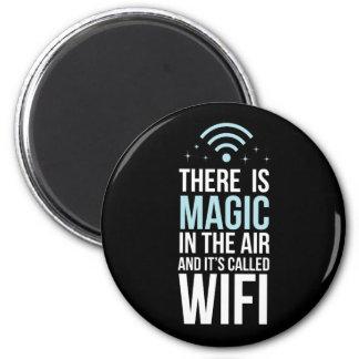 Imán Hay mágico en el aire llamado Wi-Fi