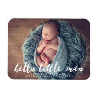 Iman Hola pequeña invitación del nacimiento de la foto