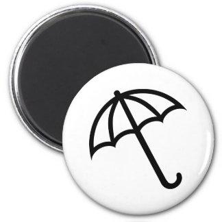 Imán Icono del paraguas