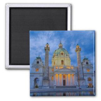 Imán Iglesia San Carlos, Viena