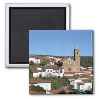 Imán Iglesia y casco histórico de Valdelarco, Huelva