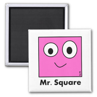 Imán Ímã Mr. Square By PA