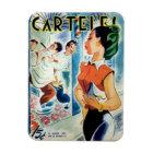 Imán Iman de Nevera Cuba Vintage Bella Cubana Revista