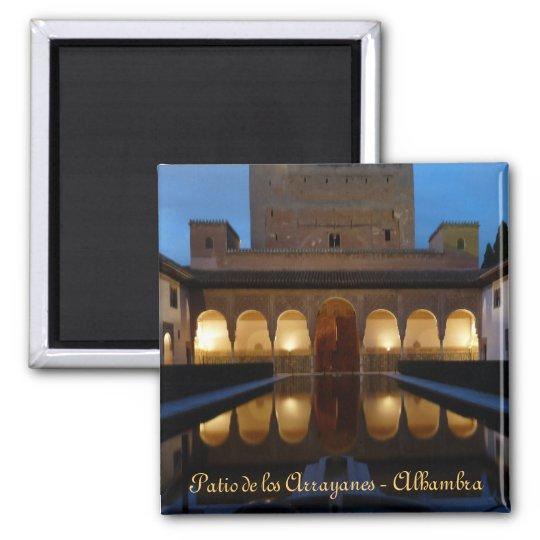 Imán Iman  Patio de los Arrayanes - Alhambra - Granada