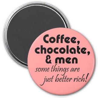 Imán Imanes para mujer divertidos del coffeee del