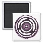Imán Imanes (púrpuras) de la rueda de Hecate