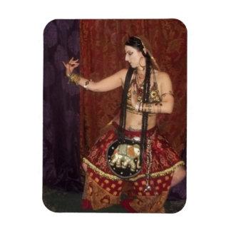Imán indio del bailarín de la fusión