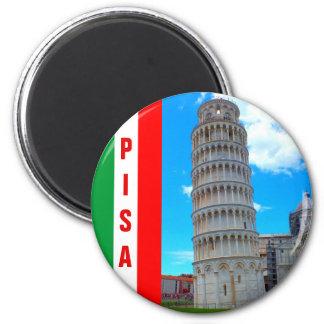 Imán Italia - la torre inclinada de Pisa