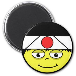 Imán Japón hace frente