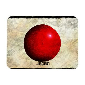 Imán japonés artístico de Nihon de la bandera