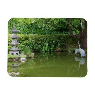 Imán japonés de la charca #2 del jardín de té de