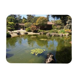 Imán japonés de la foto del jardín de San Mateo