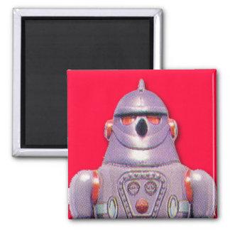 Imán japonés del cuadrado del robot del juguete