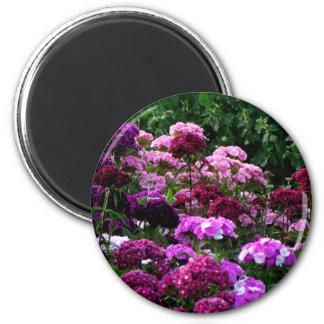 Imán Jardín de flores en verano
