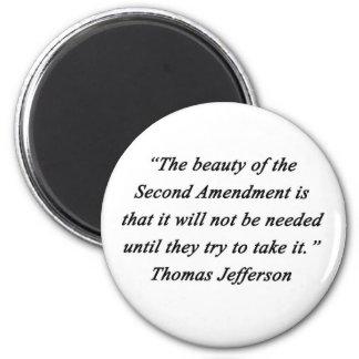 Imán Jefferson - segunda enmienda