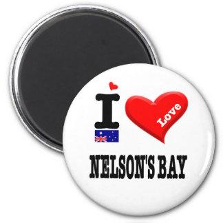 Imán La BAHÍA de NELSON - amor de I