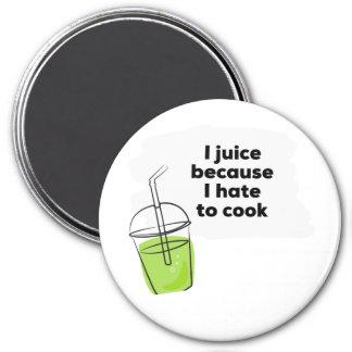 Imán La dieta sana divertida Juicing del vegano limpia