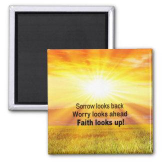 Imán ¡La fe mira para arriba!