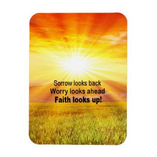 Iman ¡La fe mira para arriba!
