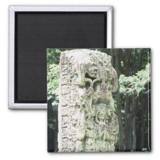Imán La foto maya antigua de las ruinas diseñó el