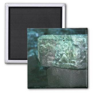 Imán La foto maya de lujo de las ruinas diseñó el