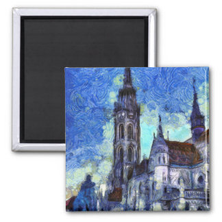 Imán La iglesia Vincent van Gogh