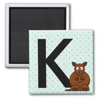 """Imán La """"letra K"""" está para los imanes de los niños del"""