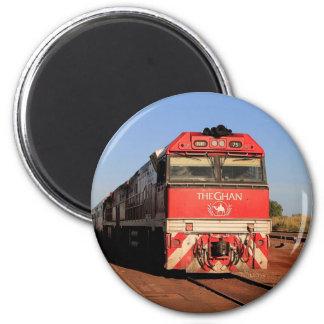 Imán La locomotora del tren de Ghan, Darwin