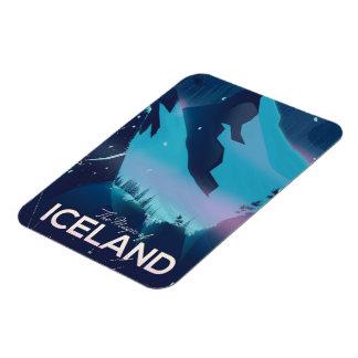 Iman La magia del poster del viaje de Islandia