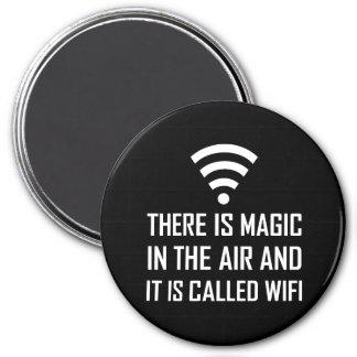 Imán La magia en el aire es Wifi