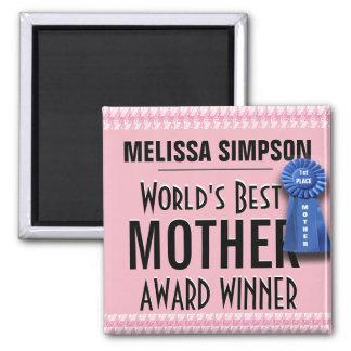 Imán La mejor cinta del premio de la madre del mundo de