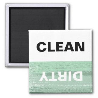 Imán La menta y blancos limpian/lavaplatos sucio