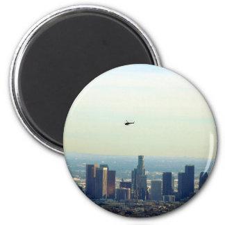 Imán LA y helicóptero