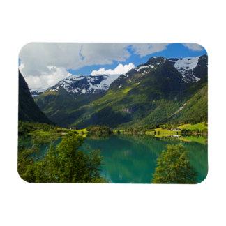 Iman Lago Floen escénico, Noruega
