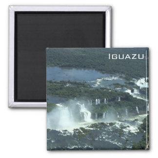 Imán Las cataratas del Iguazú - visión aérea