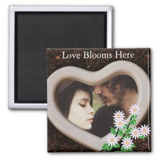 """Imán Las """"floraciones del amor aquí"""" añaden su foto"""