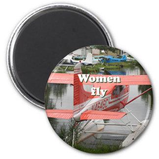 Imán Las mujeres vuelan: avión 23, Alaska del flotador