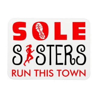 Iman Las únicas hermanas corren esta ciudad
